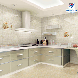 latest well selling good quality glossy inkjet glazed 300x450mm interior kitchen and bathroom ceramic wall tiles and floor tiles