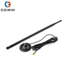 Long Range Whip 2.4GHz 9dBi Omni WiFi Antenna With Magnetic Base RG174 Cable 3M SMA