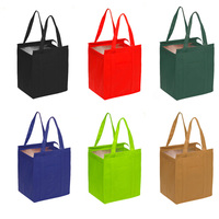 Promotional Aluminium Extra Large Thermal Cooler insulated tote bags with zipper
