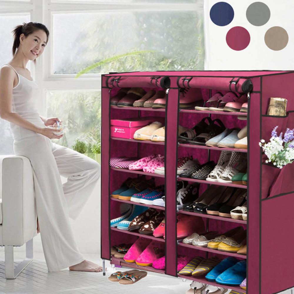 Aliexpress Com Buy Us Stock Portable Home Shoe Rack