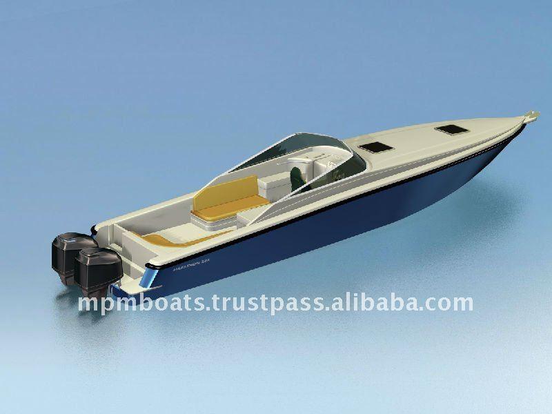 Indonesia Fiberglass Marathon 35x Sport Boat