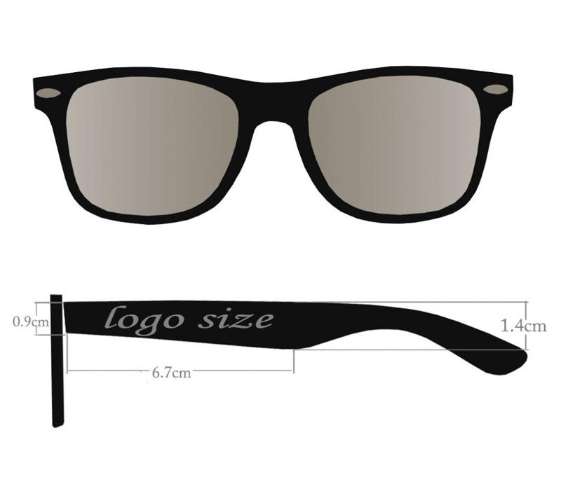 338b9b72ef China ano novo logotipo original melhores homens da marca de óculos de sol  2018