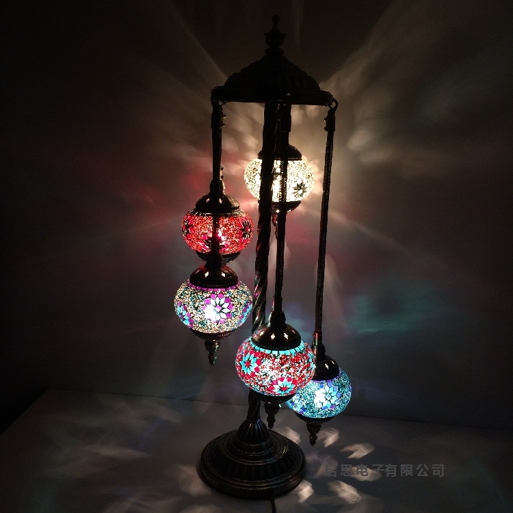 Lamparas Color Glass Led Table Lamp Hand Made Tiffany Desk: Online Buy Wholesale Turkish Lamps From China Turkish