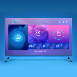 2019 Lifetime EUTV Original Supplier Android TV Iptv Subscription Box USA Canada Reseller Panel