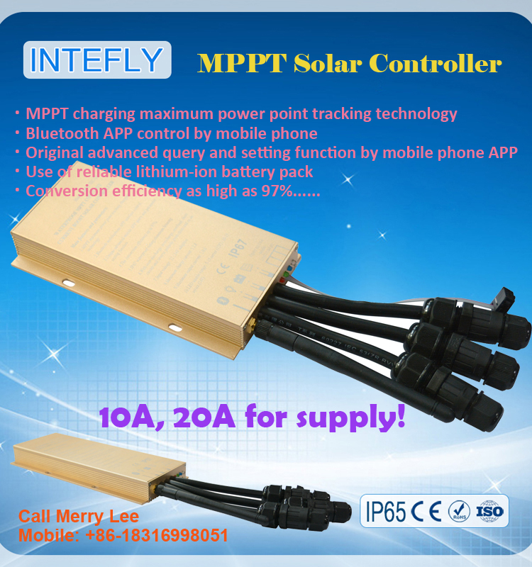 hybrid solar inverter with mppt charge controller 12V 10A step-up function for street light