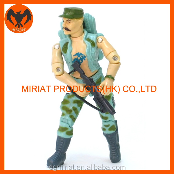 Alibaba Gold supplier Promotional little models 3D action figures
