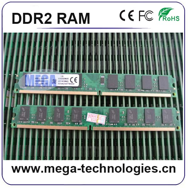 100% full compatible ddr2 pc800 ram memory 2gb 4gb