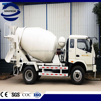 China 3 m3 concrete mixer truck for sale