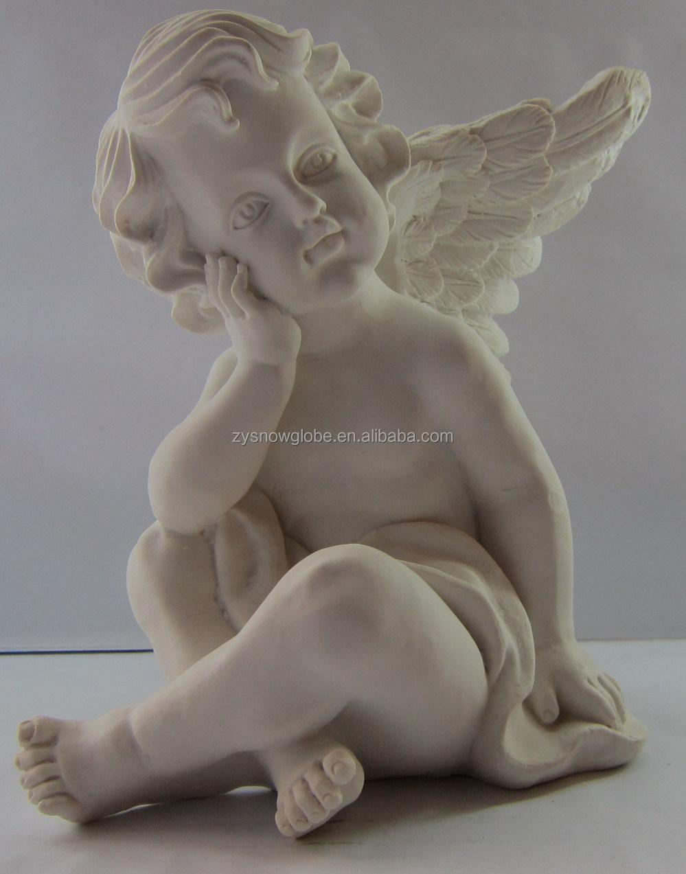 New Arrival Resin Religious Little Angel Statue