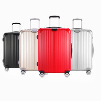 New design hot selling trolley cheap price travel PC suitcase with wheels luggage bag
