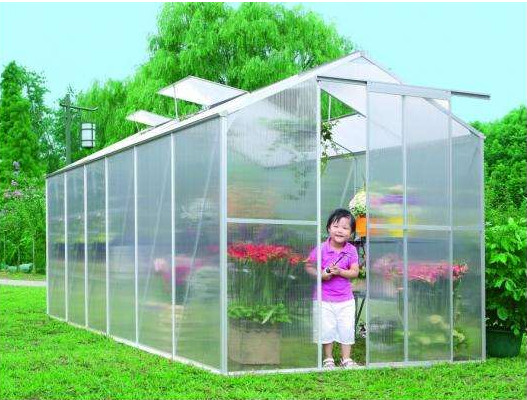 Outdoor Garden Greenhouse & Cold Frames Shelves Reinforced Greenhouse Cover