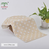 Comfortable waffle bamboo fiber cleaning face/hand towel