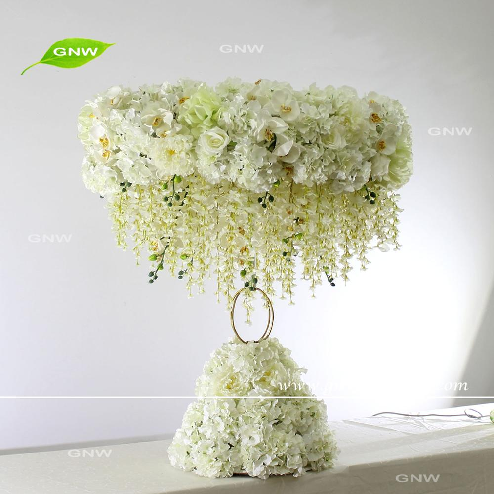 GNW CTR1605001-A Tall Wedding Centerpieces Flower Stand Wooden Table ...