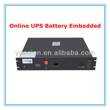 online UPS LiFePO4 battery embedded with Monitoring System