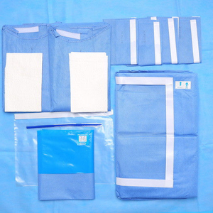 Sterilized Disposable Cardiovascular Dental Surgical Neuro Drape Pack