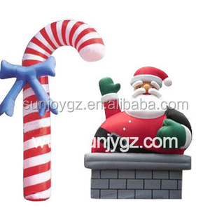 New design Giant 20ft 25ft Inflatable Christmas Santa Claus Snowman Advertising Balloon Commercial Xmas Decorations Inflatable