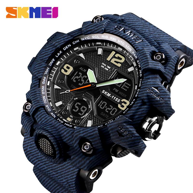 729de3bcbc0 SKMEI G Style Fashion Digital-Watch Mens Sports Watches Army Military  Wristwatch Erkek Saat Shock