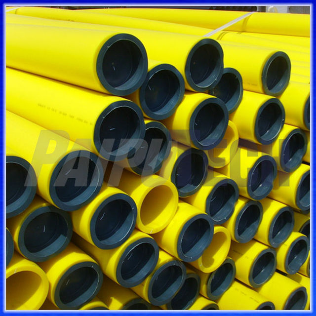 piping system hdpe gas pipe yellow pipe price