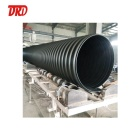 1000mm 1200mm HDPE Steel Belt Reinforced Corrugated drain Pipe