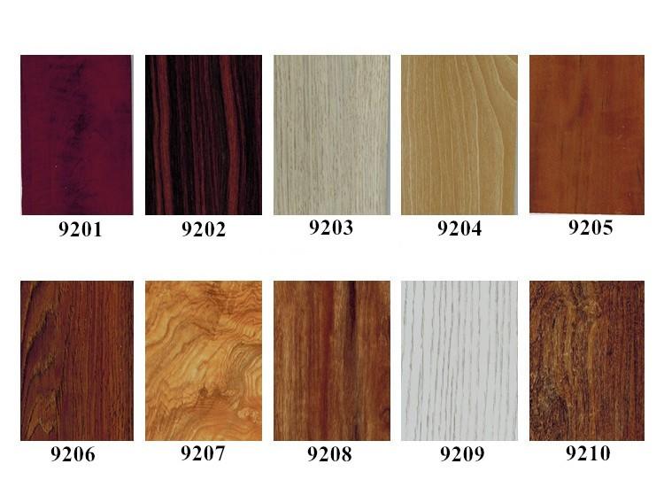 Nuovo disegno d effetto legno pannello di piastrelle muro di mm