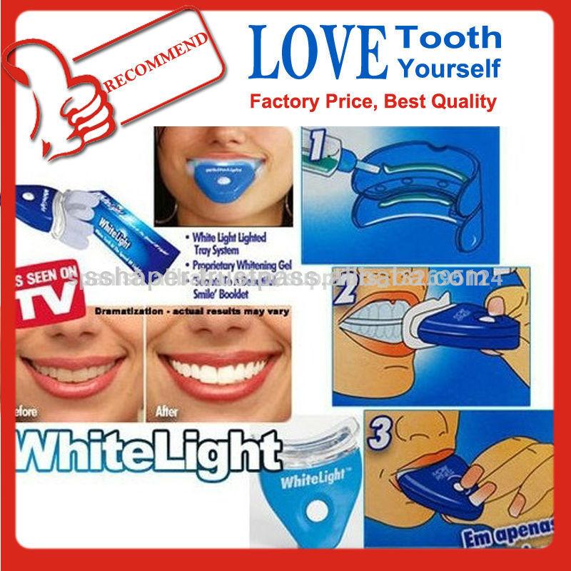 kit blanqueamiento dental luz