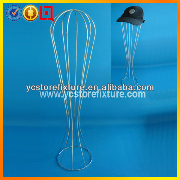Single hat dispaly wire stand