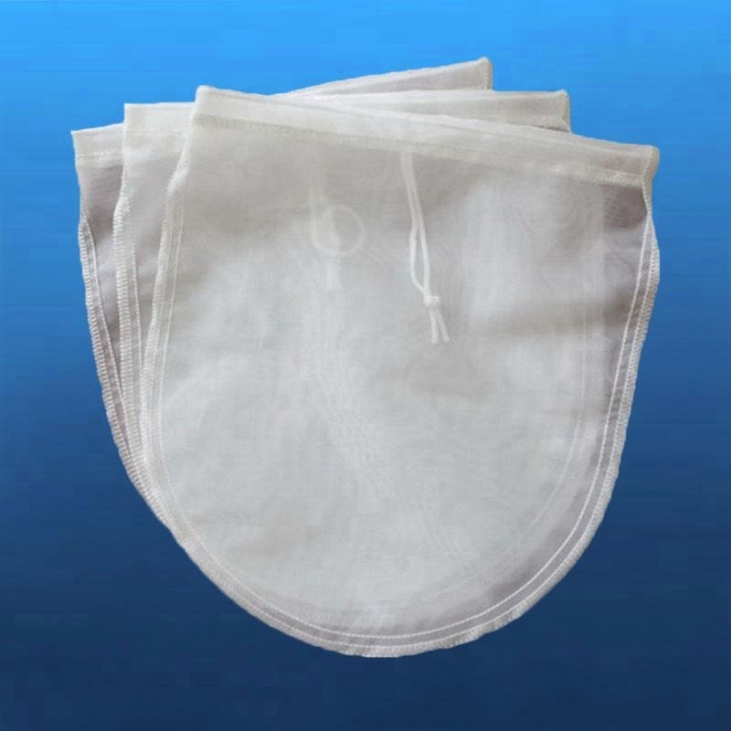 Nut Milk Bag And Cold Brew Coffee Maker Food Grade Strainer Filter Bags Fine Mesh