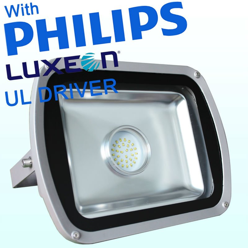 Outdoor 6000 Lumens 50w Led Floodlight With Philips Luxeon M And ...