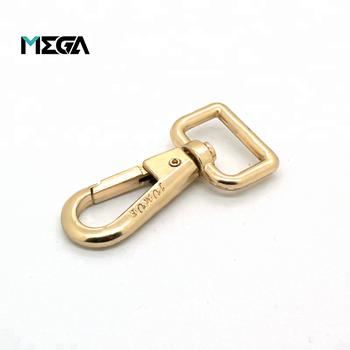 Heavy Duty Fashion Bag Decorative Swivel Clips Clasp Metal Gold Dog Leash Hook Snap
