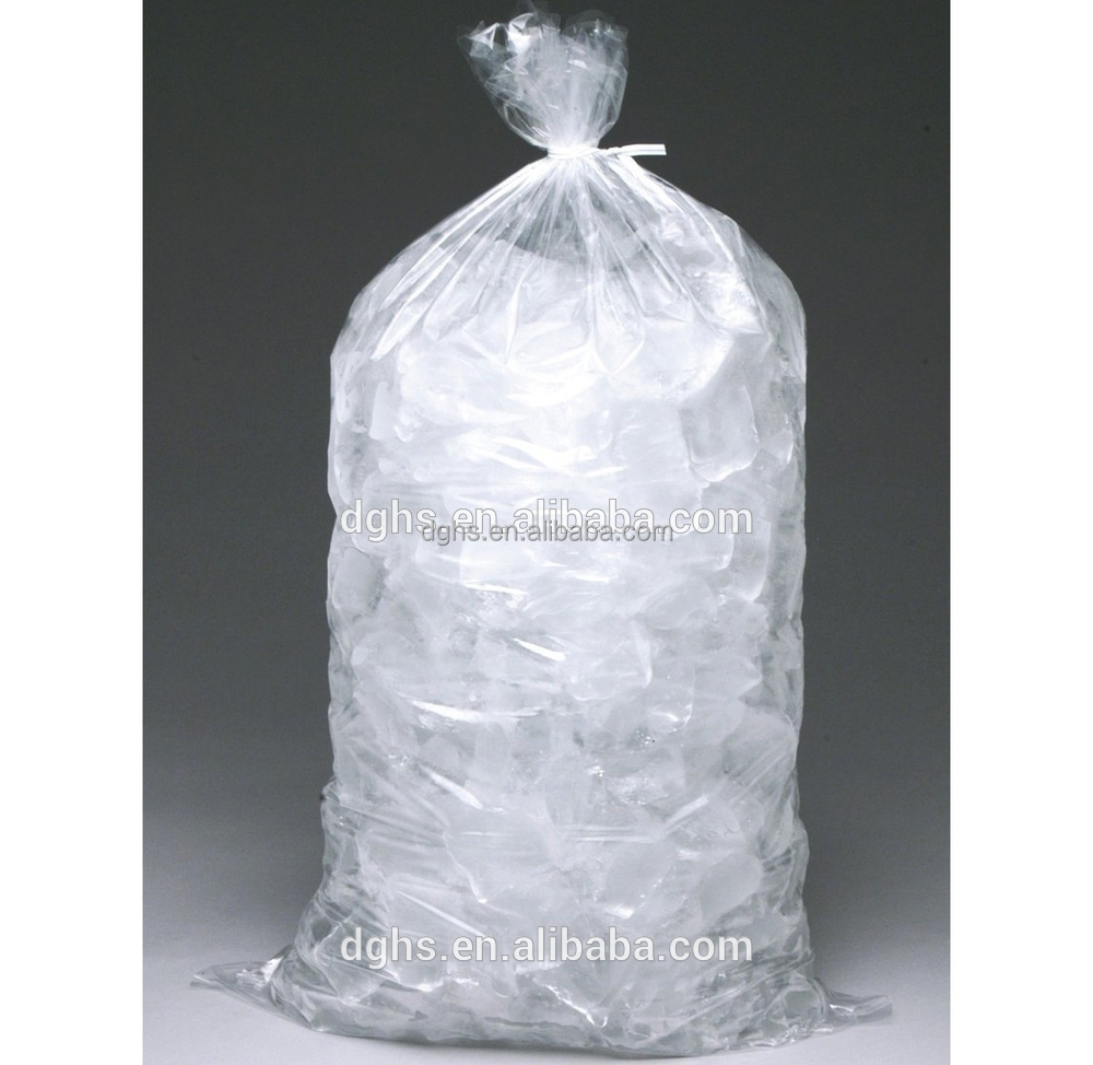 Custom Manufacture Plastic Disposable Ice Cube Bag Freezer Bags Manufacturer Product On Alibaba