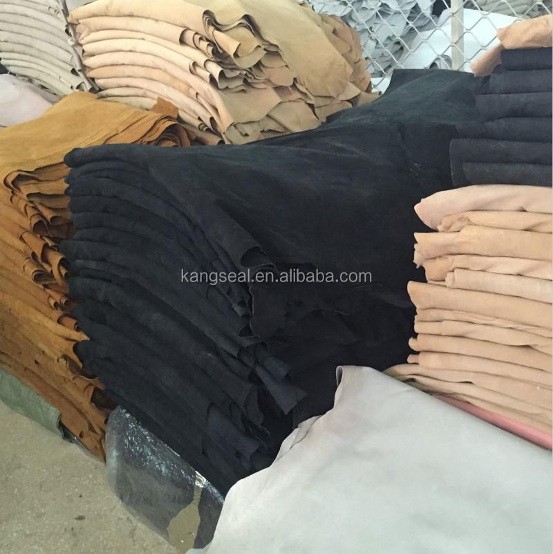 Китай дешевые оптовая продажа свиная кожа для обуви стельки