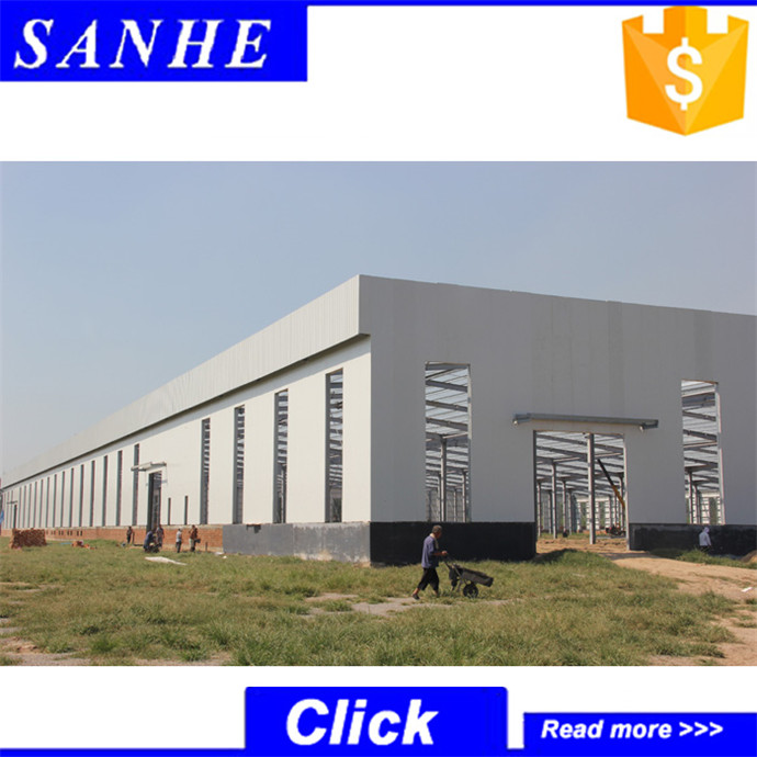 China supplier custom built metallic building prefab shed kit