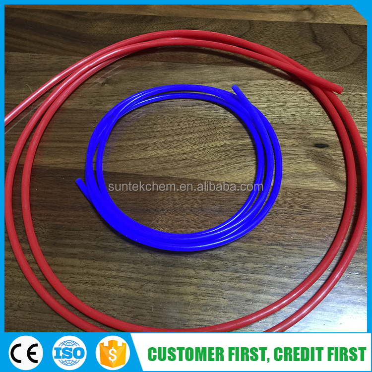 Fluorine plastic best quality new products white color extruded pvdf tubing