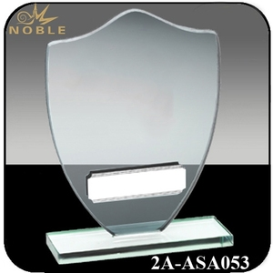 Cheap Football Crystal Glass Award Trophy