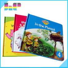cheap thick hard cover book printing /cheap factory printing hardcover children' books