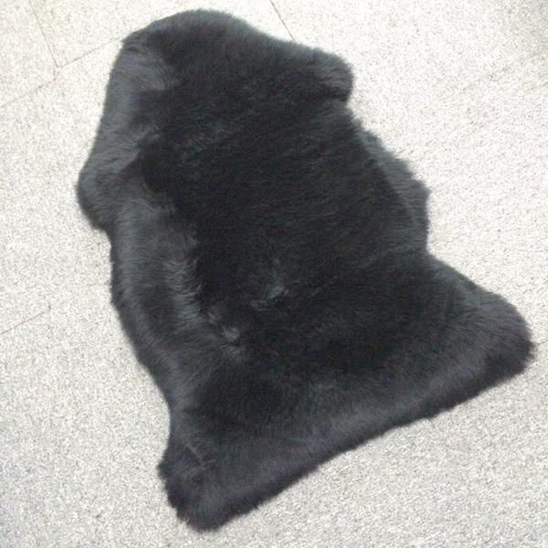 Genuine Sheepskin Rug One Pelt Red Fur 2 X 3 Buy Genuine