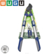 "ISO9001 2PC Garden Collection including Telescopic lopper heavy duty bypass and 8"" Bypass pruner"