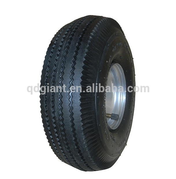 China high quality 3.50-4 pneumatic rubber wheel