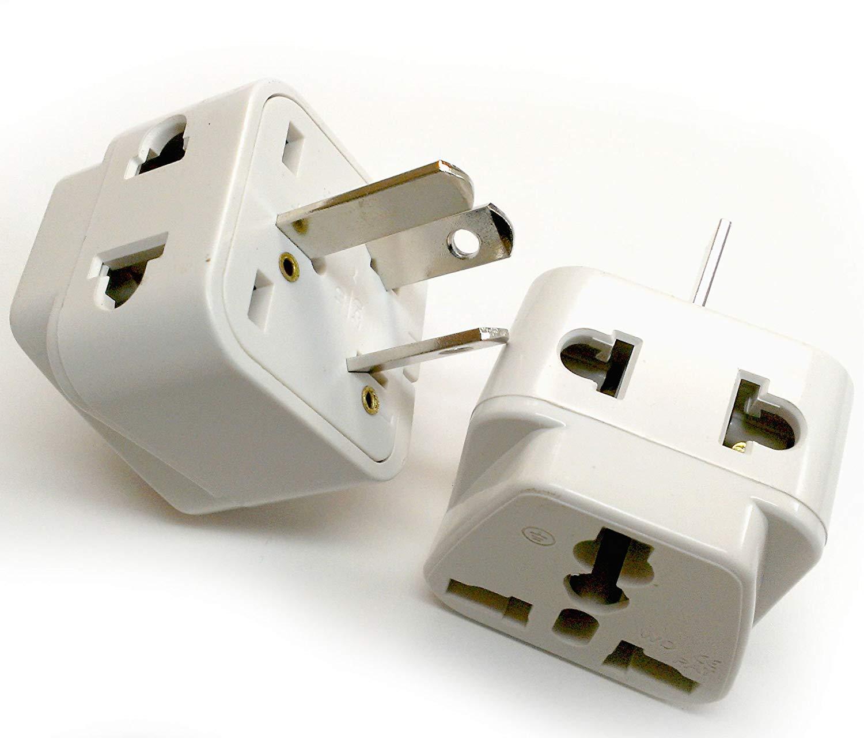 International Power Adapters Electronics Ceptics USA to Australia ...