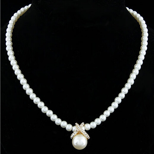 China Imitate Pearl Necklace, China Imitate Pearl Necklace ...