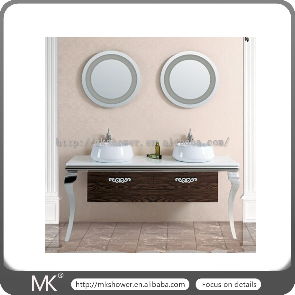 2016 Hot Sale In Middle East Stainless Steel Bathroom Cabinet(mk3602)