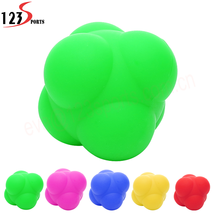 Eco Silicone Rubber Speed Agility Reaction Trainer Training Ball