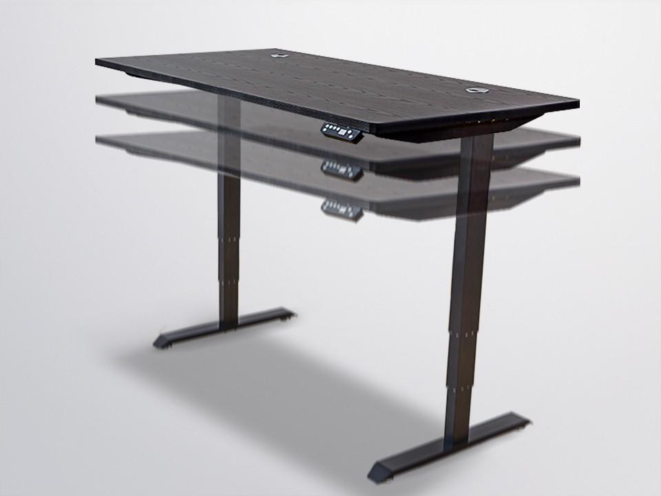 Schwarz Höhenverstellbar Büro Stehpult Tisch Basis Und Mechanismus