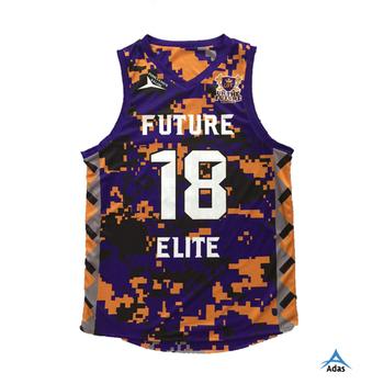 cff75e5c84fd Sublimation Camo Reversible Basketball Jersey