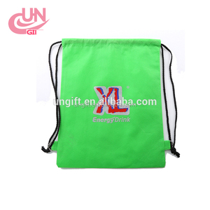 High Quality Printing Non-Woven Drawstring Bag Cute Back pack Gift With Any Logo