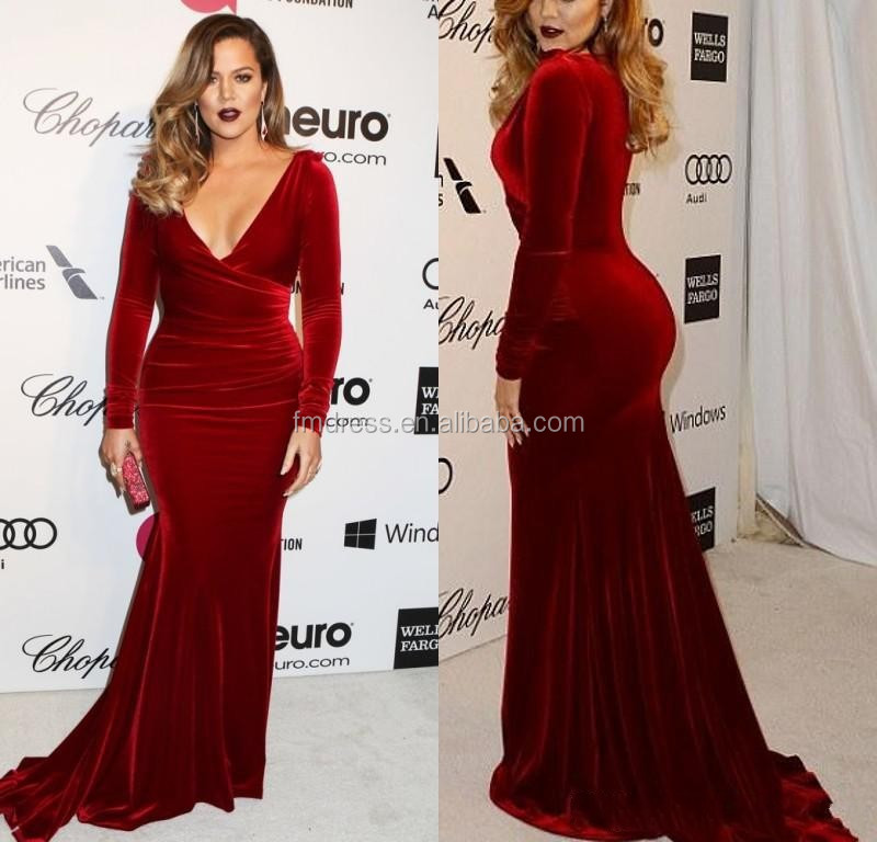 Long Red Velvet Dress- Long Red Velvet Dress Suppliers and ...