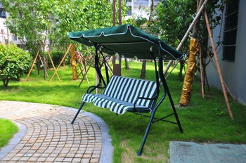 Classic 3 Seat Patio Metal Garden Swing Chair With Canopy & Classic 3 Seat Patio Metal Garden Swing Chair With Canopy - Buy ...