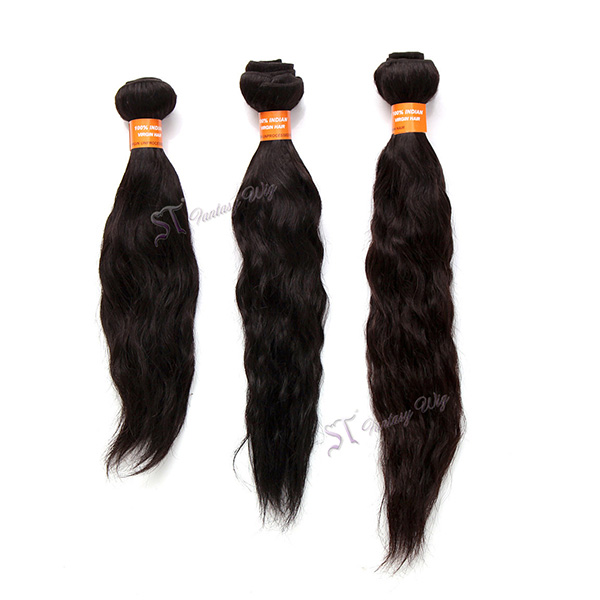 China hair extension factory wholesale 14 inch natural curl virgin remy indian hair weft unprocessed