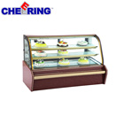 High quality refrigeration equipment display refrigerator showcase for bakery store