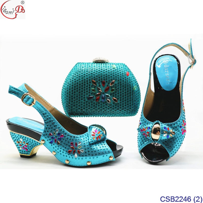 party arrival and bag end party bag CSB2246 shoes ladies 3 beautiful party and design high shoes New dtCnTqTw